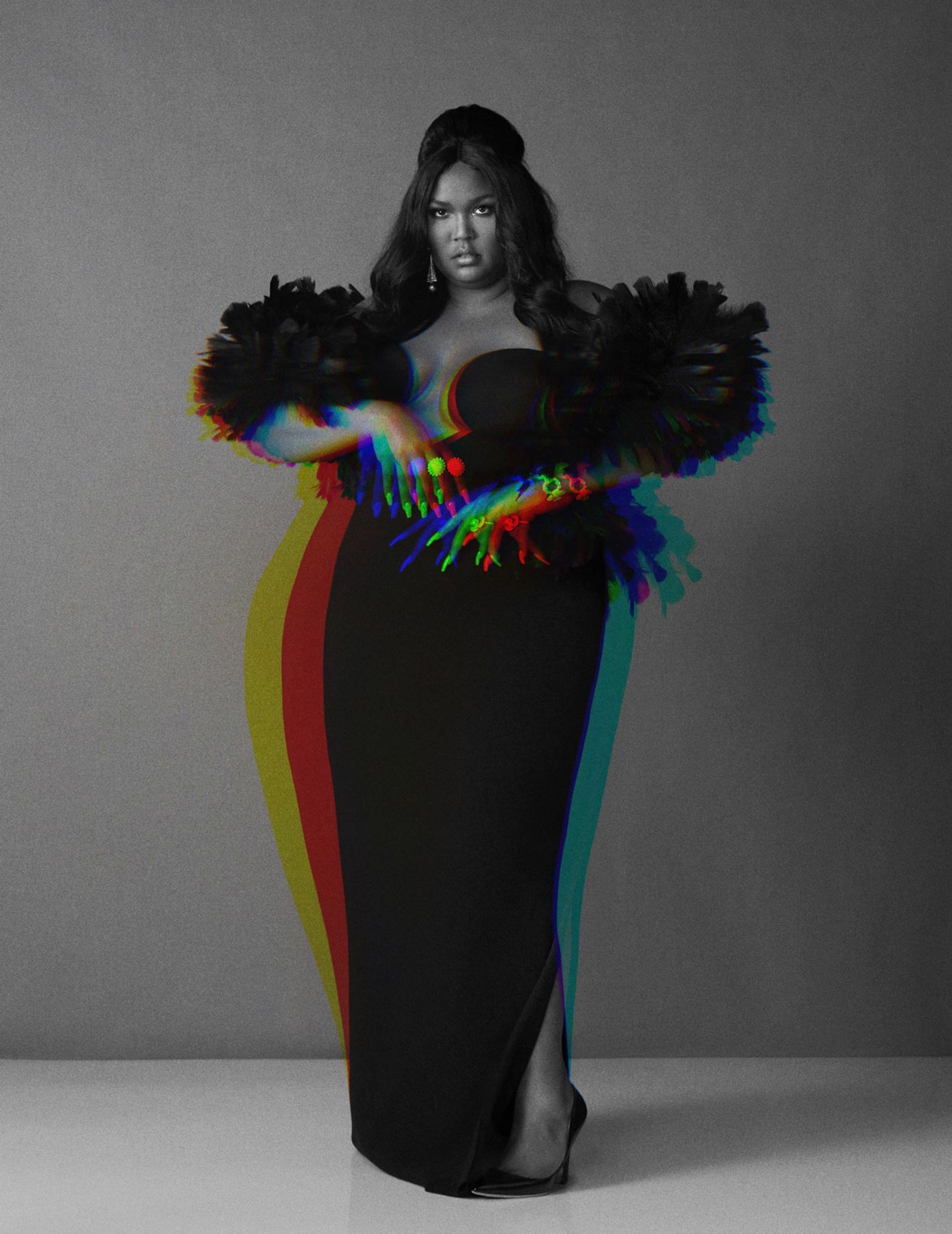 Lizzo for the December issue of British Vogue 2019