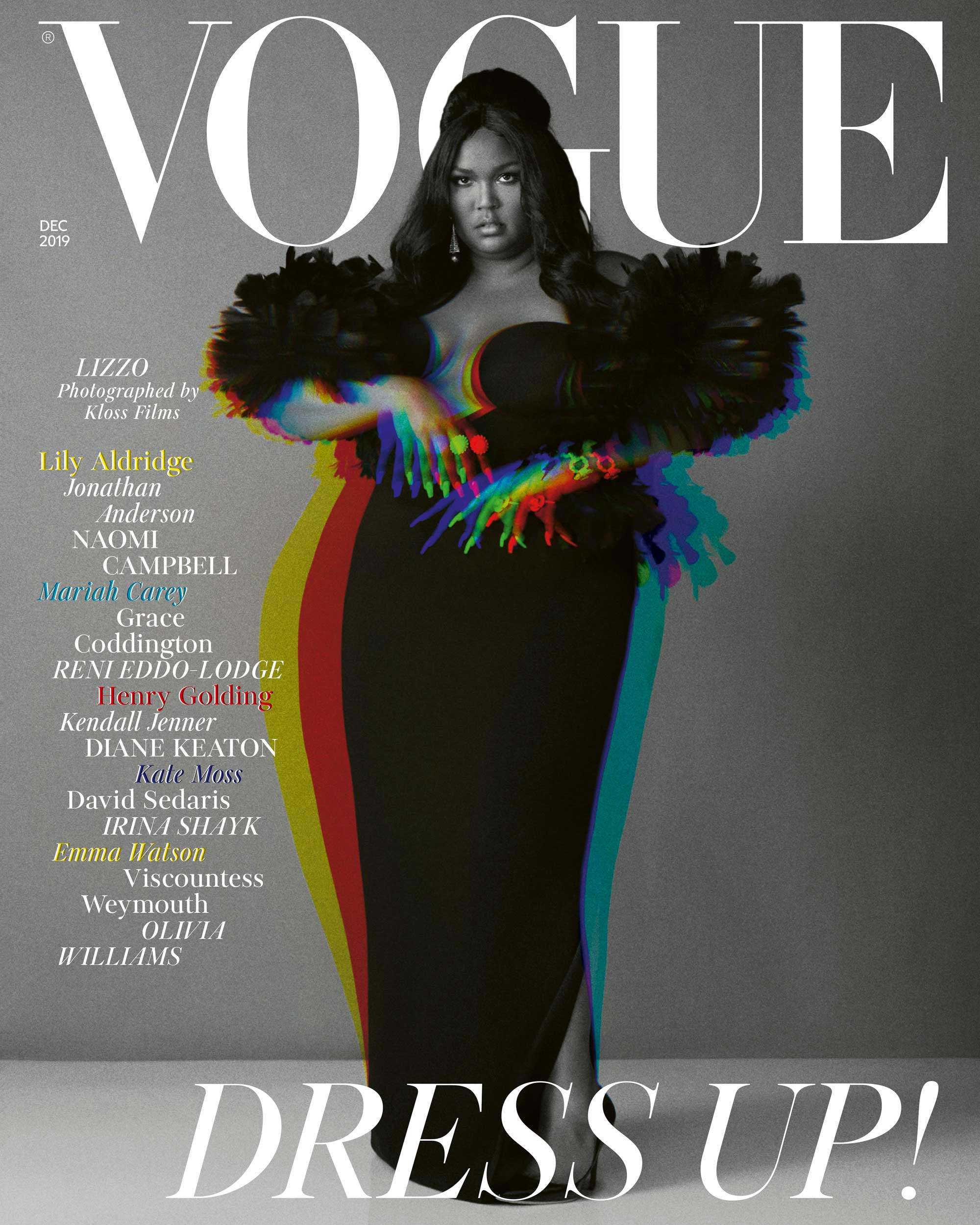 British Vogue - December - Instagram cover - Lizzo